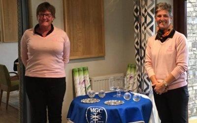 Jane and Fran win at Minchinhampton